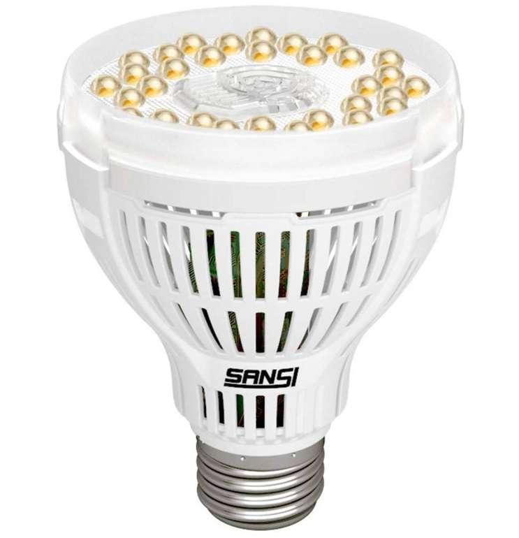 Sansi LED Vollspektrum Pflanzenlampe (15W, E27, Tageslichtweiß) für 20,09€ inkl. Prime
