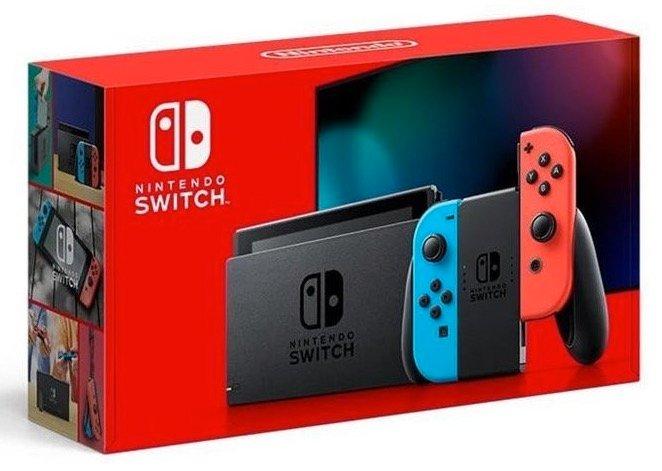 Nintendo Switch Konsole (neue Edition) für 278,10€ inkl. Versand (statt 300€)