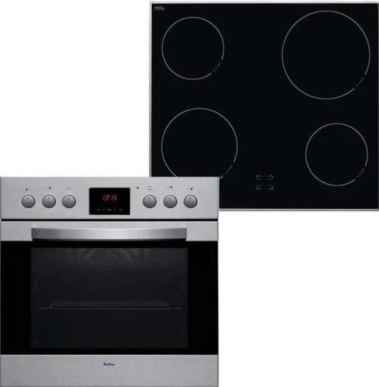 Amica EHC 12461 E Einbauherd-Set mit Glaskeramik-Kochfeld für 299€ inkl. Versand (statt 404€)