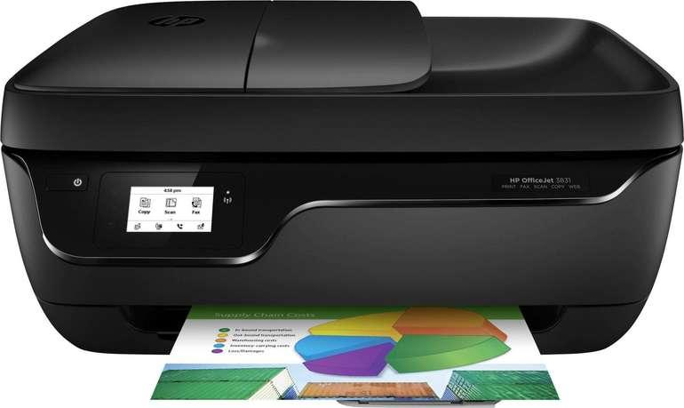HP OfficeJet 3831 WLAN-Multifunktionsdrucker für 52€ inkl. Versand
