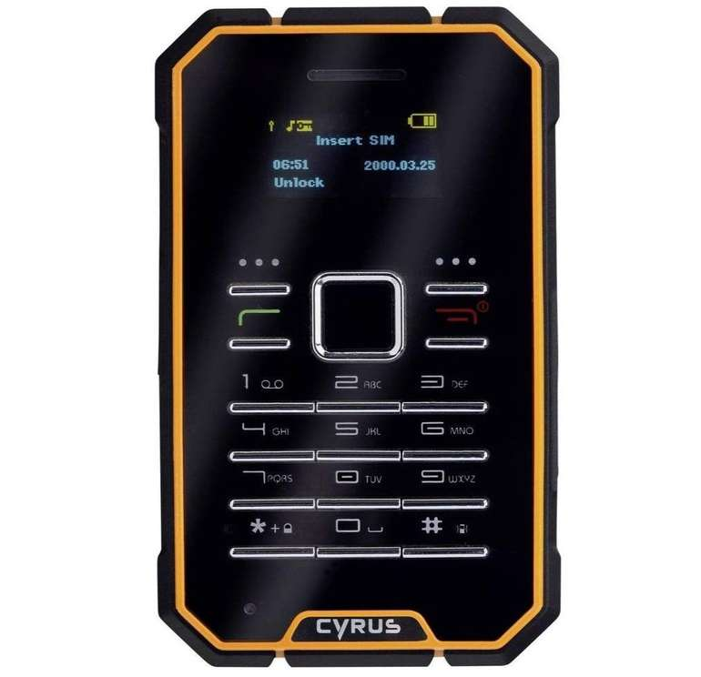 Cyrus CM 1 - 2,5 Zoll Outdoor Handy mit IP68 Schutz für 35€ inkl. Versand (statt 42€)