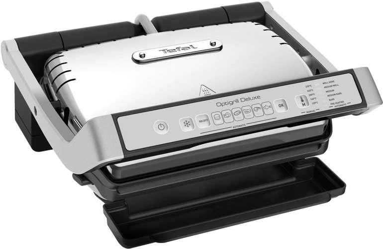 Tefal GC707D OptiGrill Deluxe Kontaktgrill mit 2.000 Watt für 149,90€ (statt 177€)