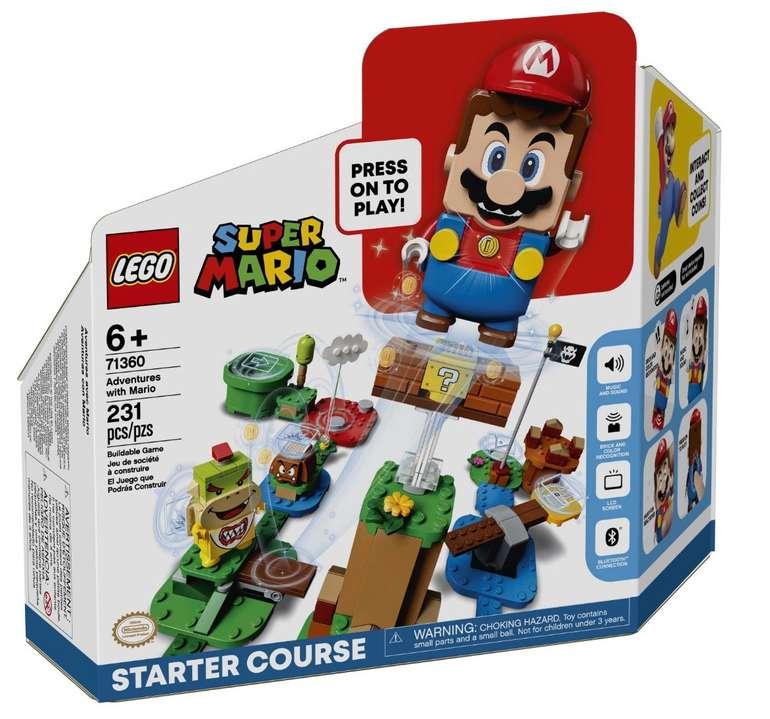 Lego Super Mario - Abenteuer mit Mario Starterset (71360) für 36,53€ (statt 40€)