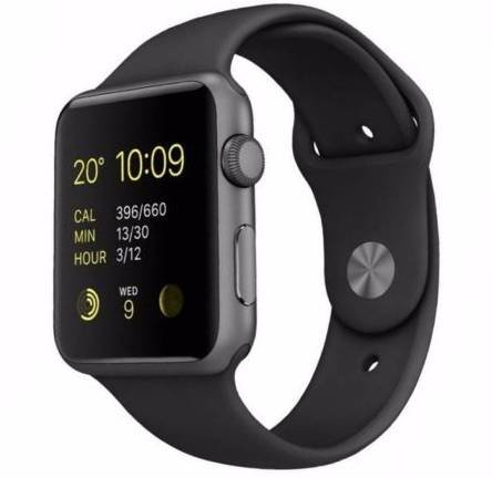 Apple Watch Series 1 42mm Alu-Gehäuse mit Sportarmband für 144,90€ (statt 170€)