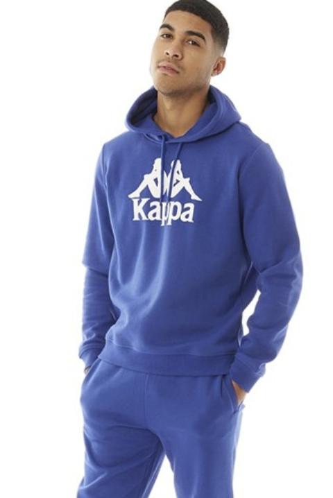 Kappa Herren Authentic Esmio Logo Kapuzentop in blau für 23,44€ inkl. Versand (statt 30€)