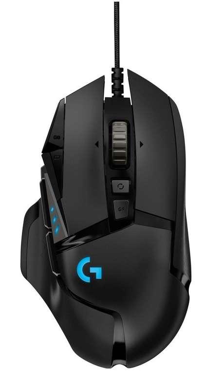 Logitech G502 HERO 16K Gaming Maus für 44€ inkl. Versand (statt 58€)