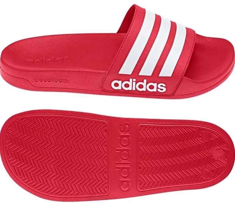 SportScheck: 15% Rabatt auf reduzierte Kleidung & Schuhe – z.B. Adidas Adilette CF Scarlet für 12,70€ (statt 20€)
