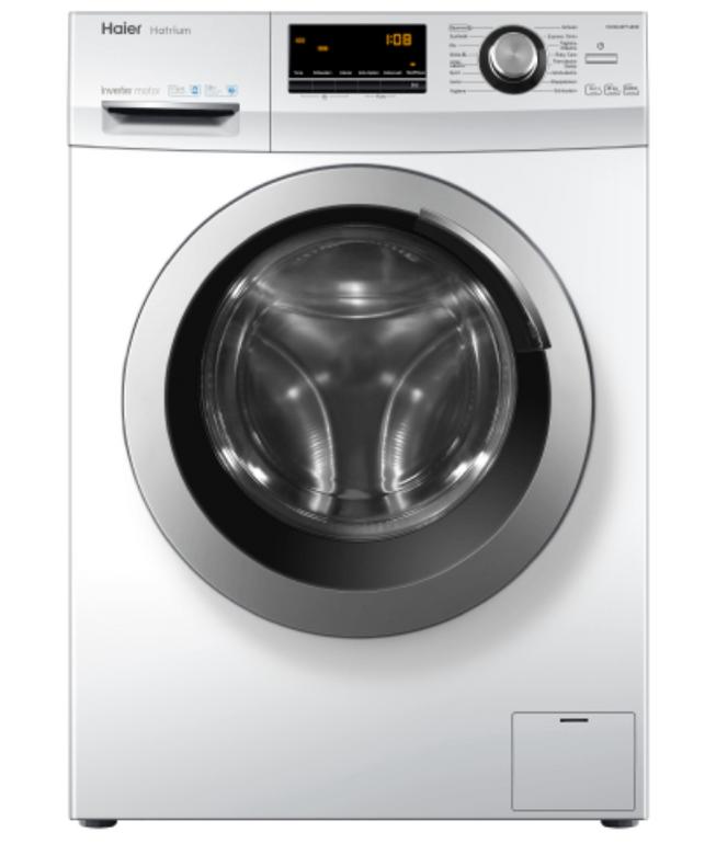 Haier HW80-BP14636 – Waschmaschine mit 8kg Fassungsvermögen für 299€