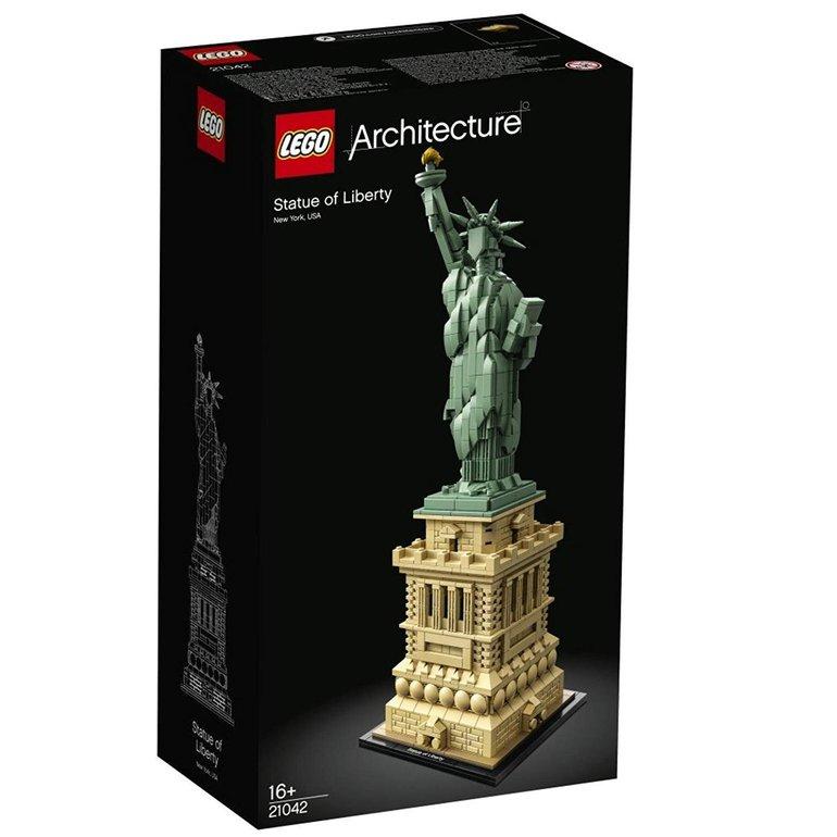 Lego Architecture Freiheitsstatue (21042) für 58,99€ inkl. Versand (statt 65€)