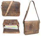 Packenger Vethorn Leder Messenger Bag Laptoptasche für 99,90€
