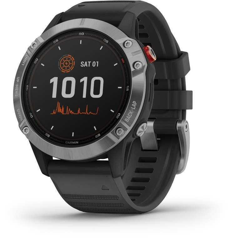 Garmin Fenix 6 Solar GPS-Multisport Smartwatch für 485,90€ (statt 544€)