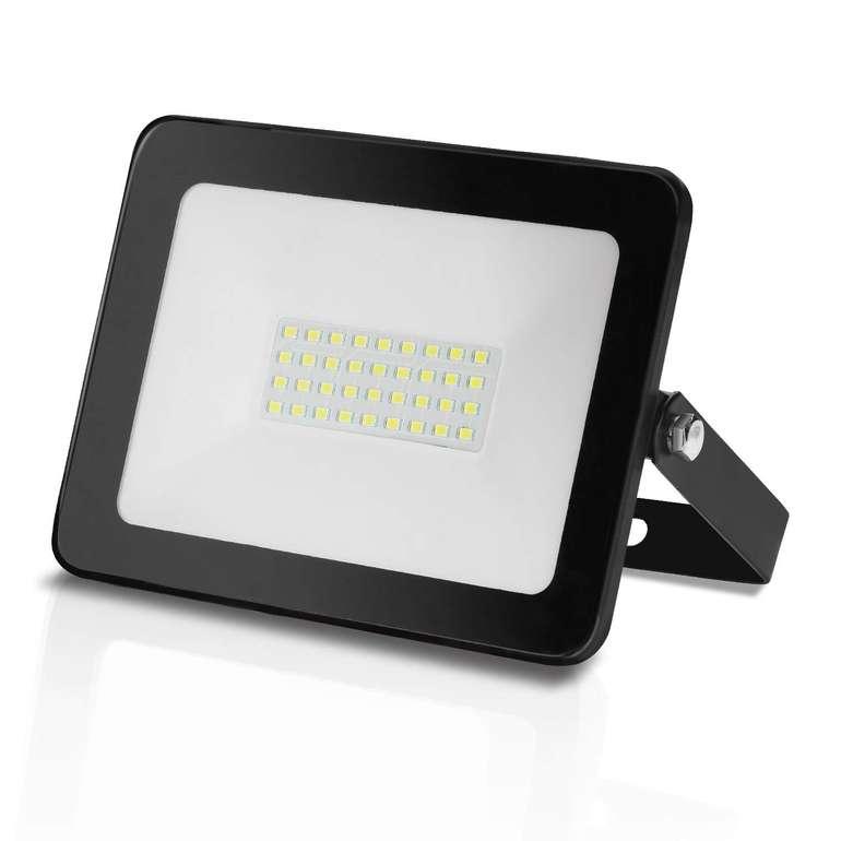 Hengda LED Fluter mit 45% Rabatt, z.B. 30 Watt Kaltweiß mit 2550lm für 7,69€ inkl. Versand