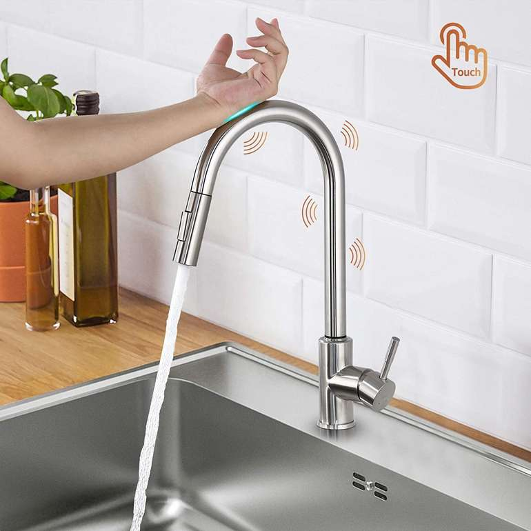 Lonheo Küchenarmatur mit Touch Sensor für 40,49€ inkl. Versand (statt 81€)