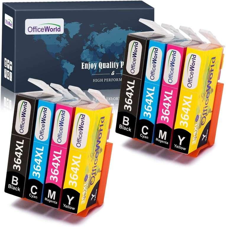 OfficeWorld Multipack Ersatz Patronen HP 364 364 XL für 7,42€ inkl. Prime Versand
