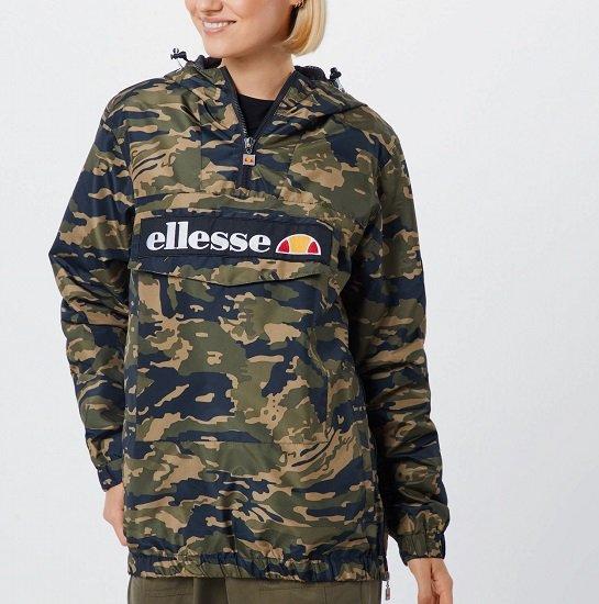 Top! Ellesse 'Mont 2' Damen Jacke (Größe: M) in oliv / mischfarben für 56,62€ (statt 85€)