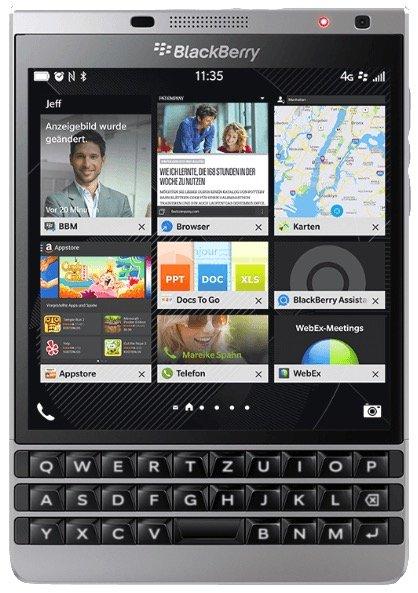 Wieder da: BlackBerry Passport Silver Edition mit 32GB Speicher für 150,99€
