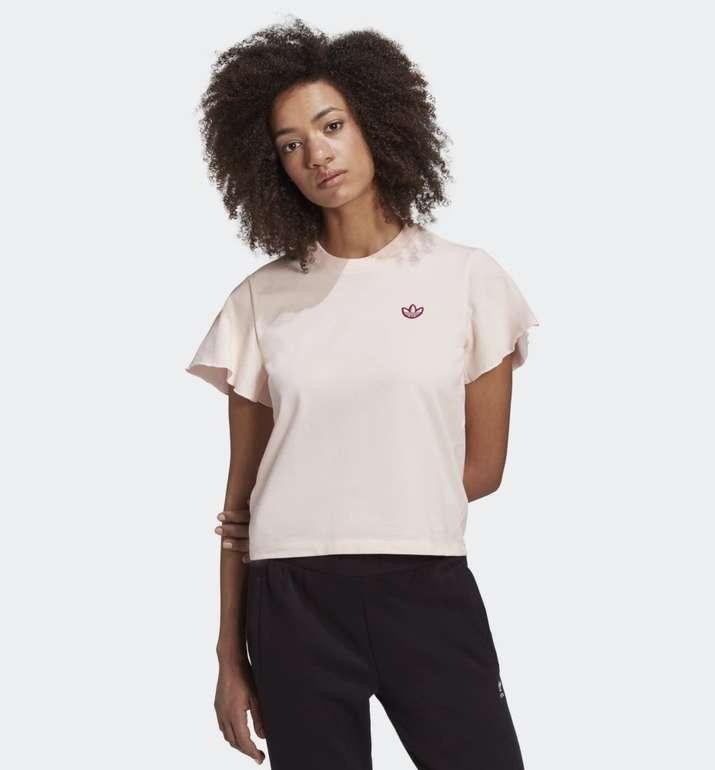 Adidas Originals Damen T-Shirt mit Rüschenärmeln für 15,96€ inkl. Versand (statt 38€) - Creators Club