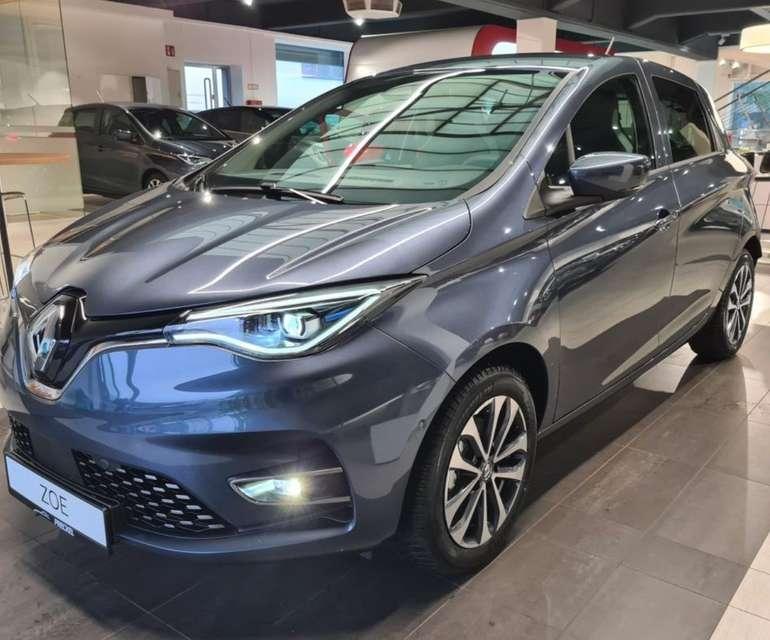 Gewerbe Leasing: Renault ZOE Intens mit 136 PS inkl. Ganzjahresreifen, Winterpaket uvm. für 49,49€ mtl. (ÜF: 1054€, BAFA, LF: 0.13)