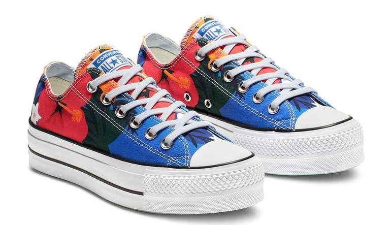 Converse Sale mit bis zu 40% Rabatt - z.B. Chuck Taylor Paradise Print Sneaker für 39,99€