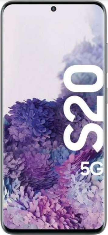 Samsung Galaxy S20 5G (223,99€) + Telekom Congstar Allnet & SMS Flat mit 8GB LTE für 20€ mtl.