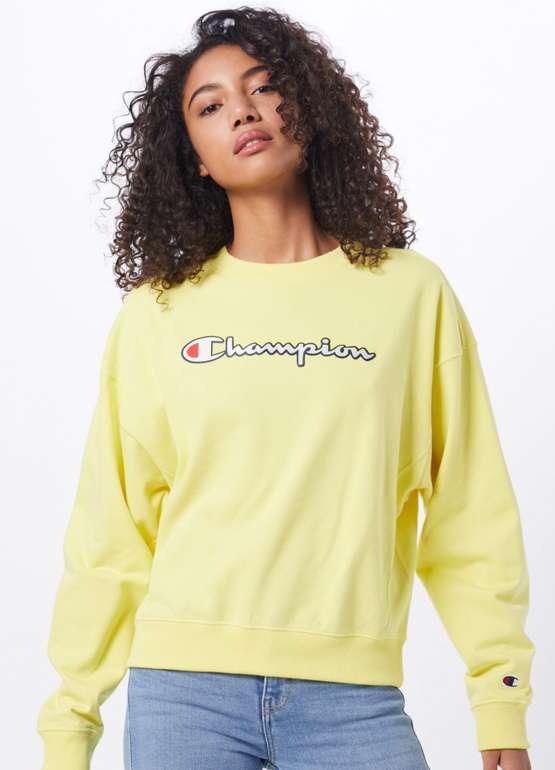 Champion Authentic Athletic Apparel Sweatshirt in gelb für 29,90€ inkl. Versand (statt 60€)