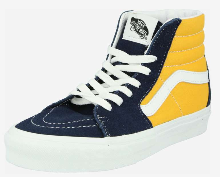 "Vans Unisex Herren Sneaker ""UA SK8-Hi"" in blau/senf für 44,90€inkl. Versand (statt 68€)"