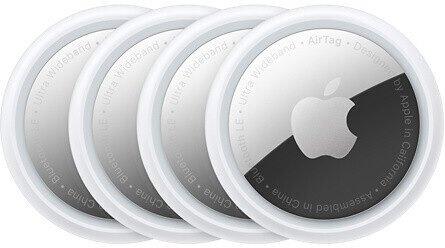 Vorbestellung: Apple AirTag im 4er-Pack für 109€ inkl. Versand (statt 119€) - Newsletter Gutschein!