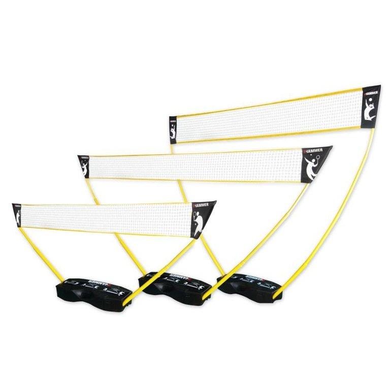 Hammer 3in1 Netz-Set (Volleyball, Badminton & Tennis) für 49,99€ (sonst 75€)