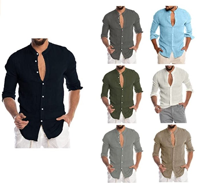 Newanna Herren Langarm Hemden (versch. Farben) für je 10,98€ inkl. Versand (statt 37€)