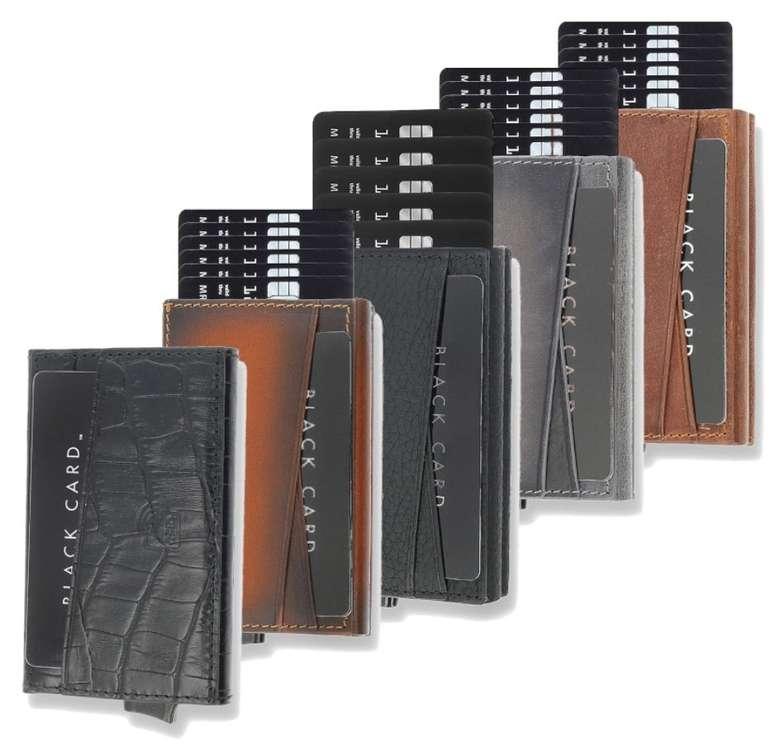 Solo Pelle Kreditkarten Leder Geldbörse mit RFID Schutz (bis zu 8 Karten + Münzfach) für 24,90€ (statt 40€)