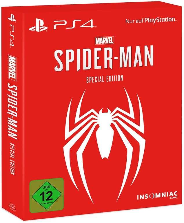 Marvel´s Spider-Man Special Edition für PlayStation 4 für 34,95€ inkl. Versand (statt 55€)