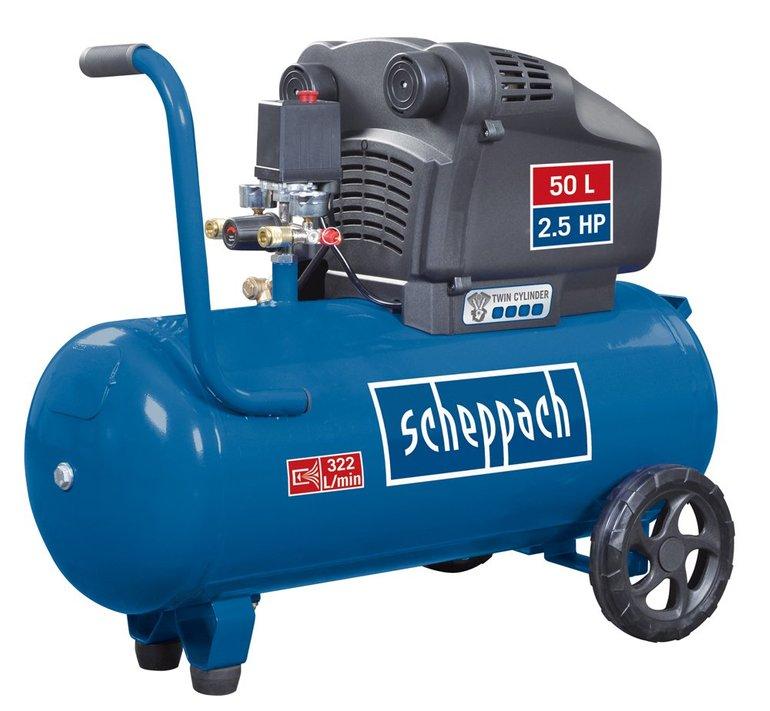 Scheppach HC54DC Profi-Doppelzylinder Kompressor für 173,79€ inkl. Versand