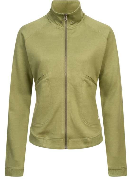 Nike Full Zip Damen Jacke in Olivgrün für 18,19€ inkl. Versand (statt 40€)