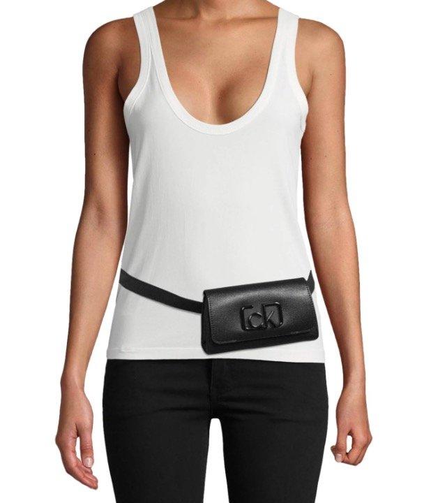 """CK Calvin Klein """"Signature Belt"""" Gürteltasche mit Logo-Applikation für 55,99€ inkl. Versand (statt 67€)"""