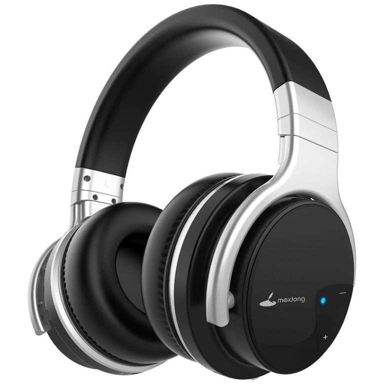 Meidong E7 Bluetooth Kopfhörer mit Active-Noise-Cancelling für 34,99€ inkl. Versand (statt 40€)