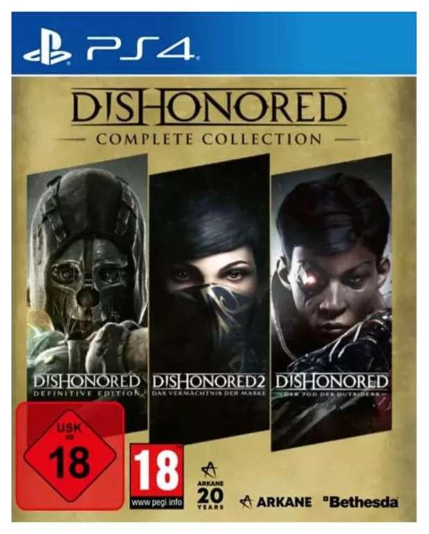 Dishonored - Complete Collection [PlayStation 4] für 14,98€ inkl. Versand (statt 37€)