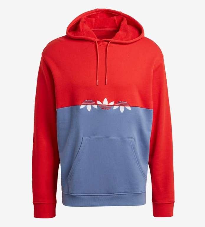 Adidas Originals Sweatshirt für Herren in Rot/Blau für 29,74€ inkl. Versand (statt 38€)