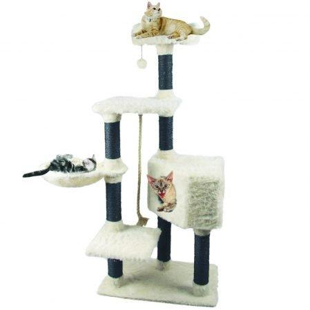 Heim Kratzbaum White Cat (60 x 36 x 139 cm) für 59,49€ inkl. VSK (statt 70€)