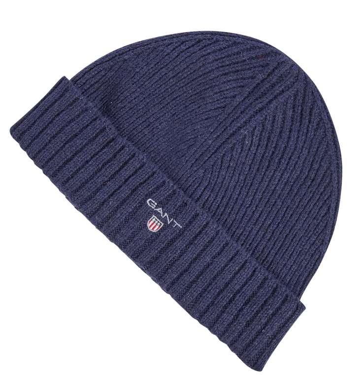 Gant Mütze aus Lammwollmischung in Blau für 9,99€inkl. Versand (statt 29€)