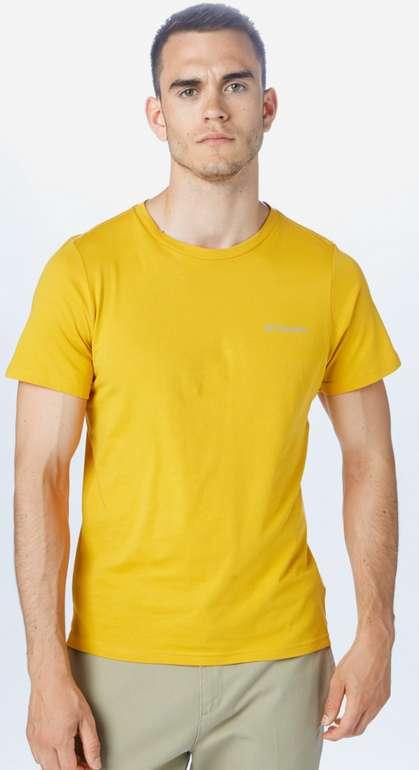 Columbia Herren Sport-Shirt in gelb für 7,16€ inkl. Versand (statt 15€)