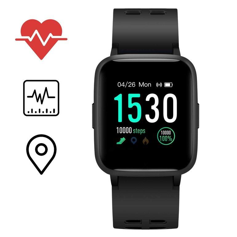 Icefox Fitness Tracker mit IP68 Schutz für 24,99€