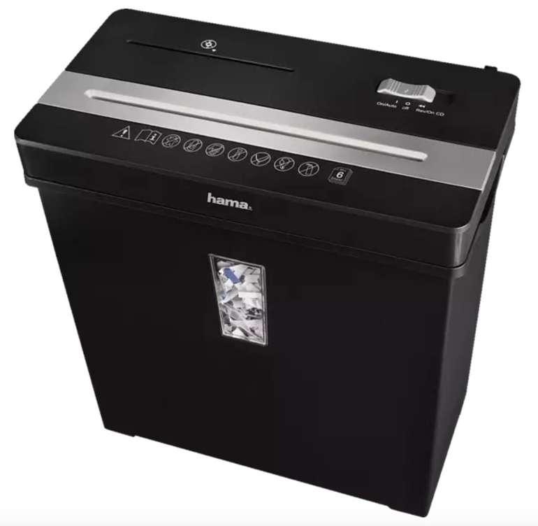 Hama Premium X8CD Aktenvernichter für 26,99€ inkl. Versand (statt 50€)