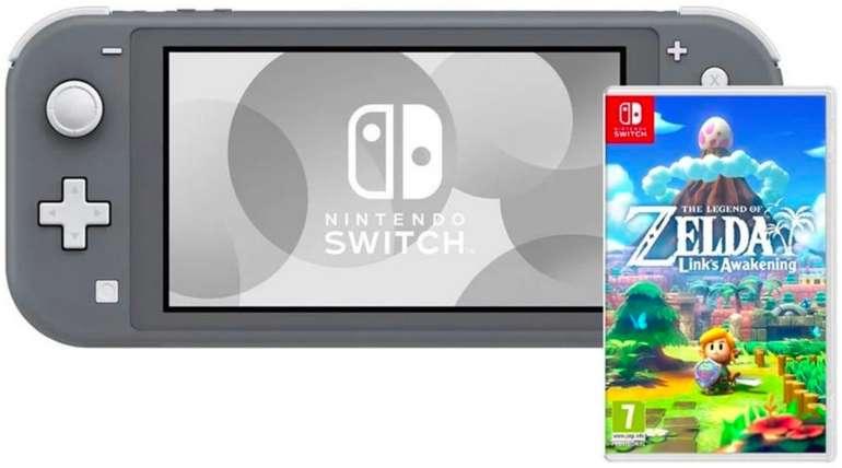 Nintendo Switch Lite + The Legend of Zelda: Links Awakening für 224,98€ inkl. Versand (statt 261€)