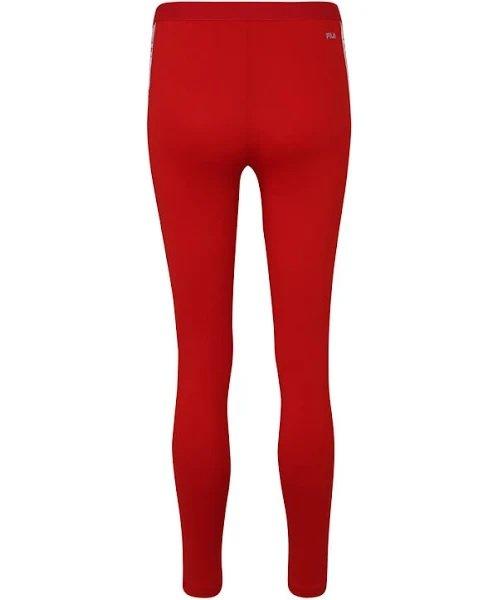 Fila Leggings 'Lilli' in rot / weiß für 14,97€ inkl. Versand (statt 35€)