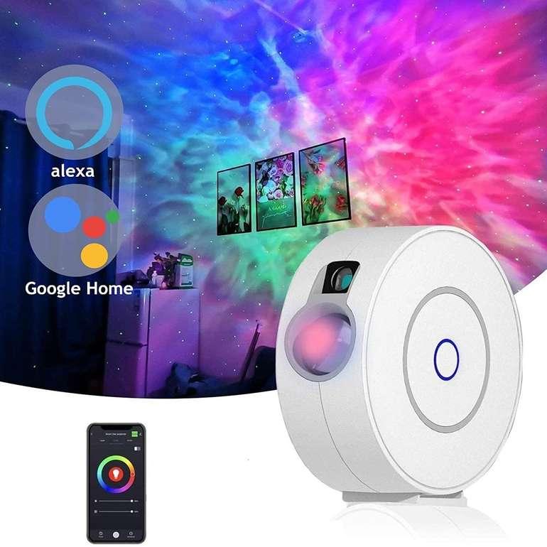 Gozye Sternenhimmelprojektor (Alexa/Google Home kompatibel) für 35,74€ (statt 55€)