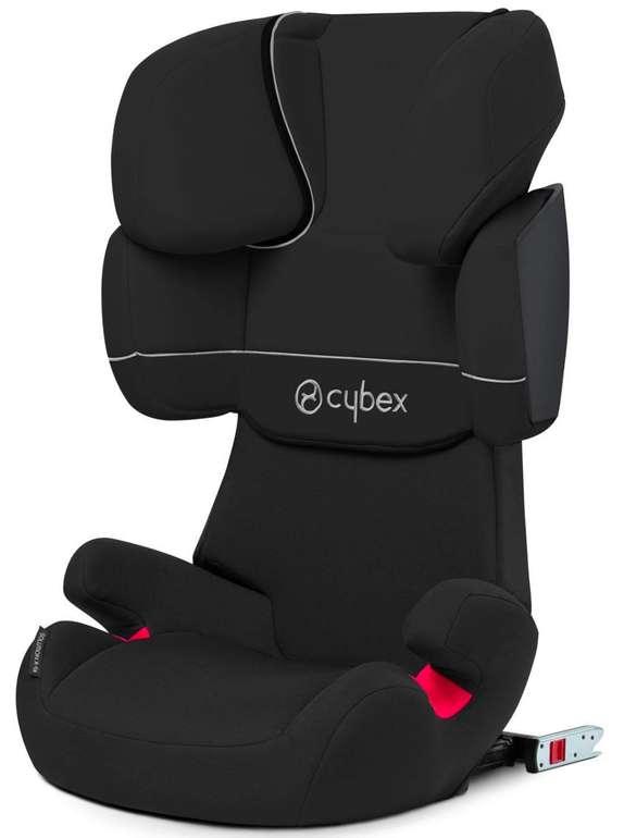 Cybex Silver Solution X-fix Autositz Gruppe 2/3 (15-36 kg) in Pure Black für 89,99€ inkl. Versand (statt 101€)