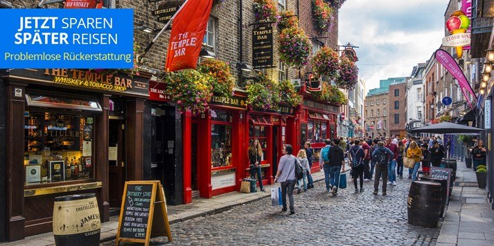 Dublin: 3 Tage im zentralen 4* Hotel Staycity Aparthotels Dublin Castle ab 88€ pro Person (OHNE FLUG)
