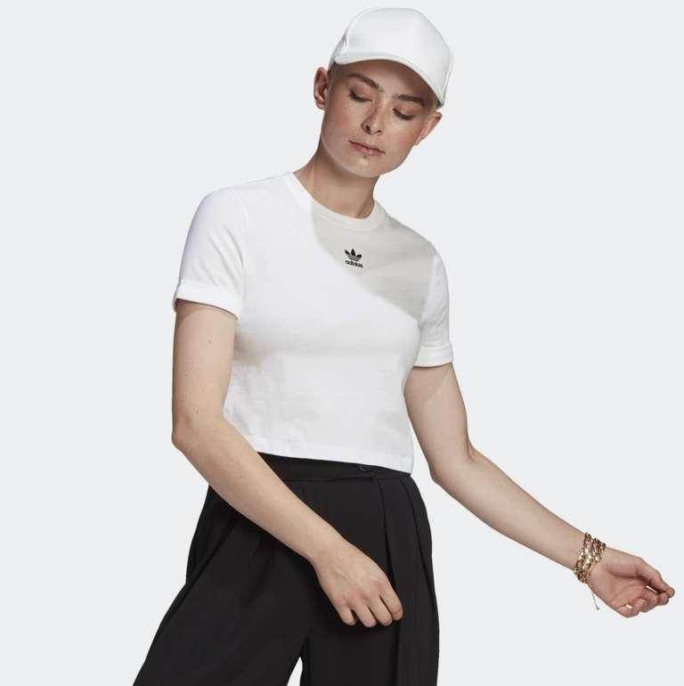 Adidas Adicolor Classics Roll-Up Sleeve Crop Top in 4 Farben für je 9,60€ (statt 13€) - Creators Club