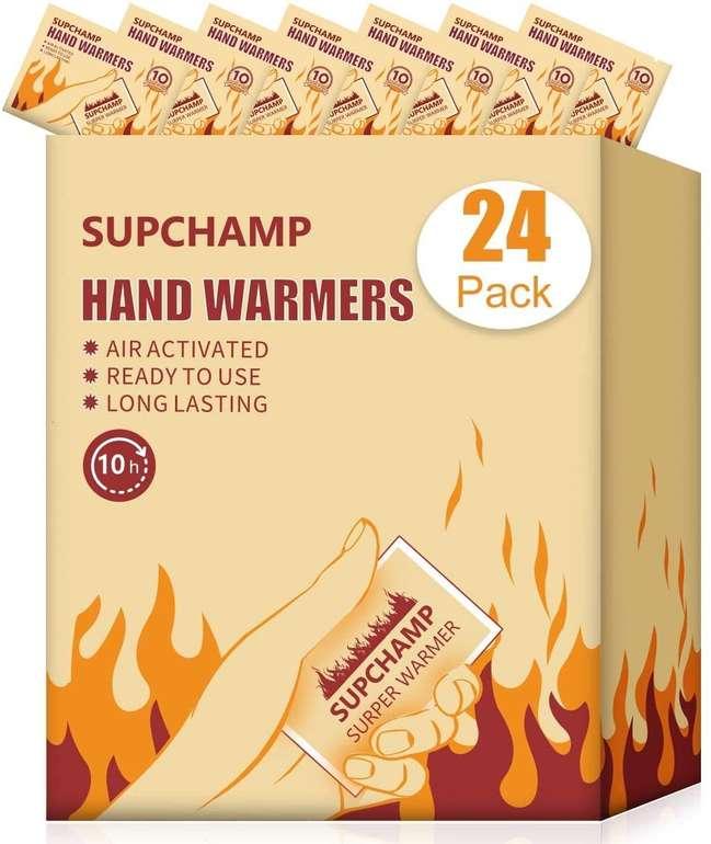 Supchamp 24er Pack Handwärmer für 9,59€ inkl. Prime Versand (statt 16€)