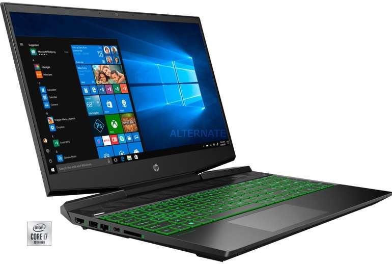 HP Pavilion Gaming-Notebook 15-dk1278ng (15,6'', 16 GB RAM, 2,2 kg) für 949€ inkl. Versand (statt 1234€)